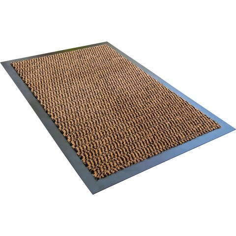 "Doortex Advantagemat Indoor Entrance Mat Brown Rectangular Size 24"" x 36"""