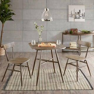 INK+IVY Café Dark Grey/ Bronze Dining Table