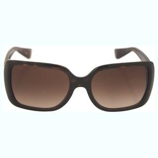 Dolce & Gabbana Women's DG 6093 502/13 - Havana/Brown Sunglasses