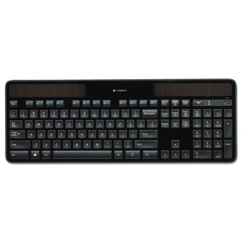 Logitech K750 Wireless Solar Keyboard Black