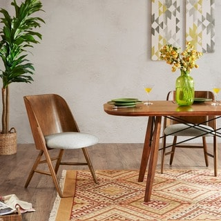 INK+IVY Curtis Pecan Dining Chair