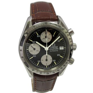 Pre-owned 38mm Stainless Steel Speed Master Omega Vimtage Watch
