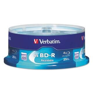 Verbatim BD-R Blu-Ray Disc 25GB 6x 25/Pack