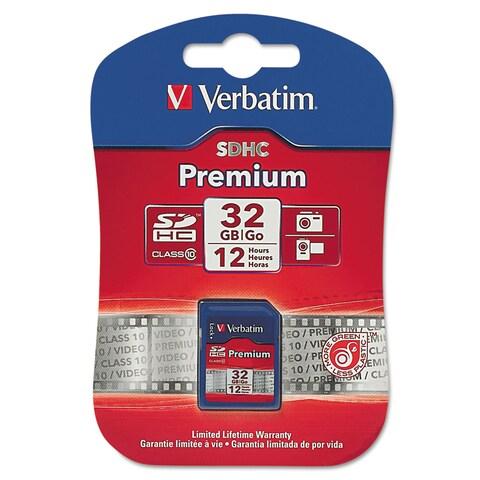 Verbatim Premium SDHC Memory Card Class 10 32GB