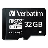 Verbatim microSDHC Card with Adapter Class 10 32GB
