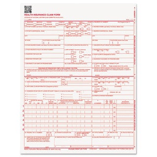 Paris Business Products CMS Forms 8 1/2 x 11 500/Ream