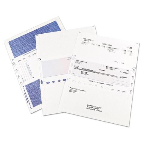 Quality Park ONEvelope For Checks White 250/Box