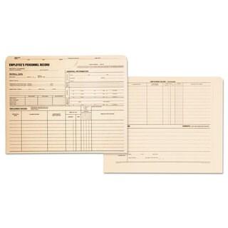 Quality Park Employee Record Jackets 11 3/4 x 9 1/2 11 Point Manila 100/Box