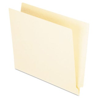 Pendaflex Straight Cut End Tab Folders One Ply Straight Cut Letter Manila 100/Box