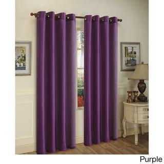 Grommet Top Window Curtain Panel Pair