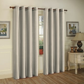 Grommet Top Window Curtain Panel Pair - 55 x 84
