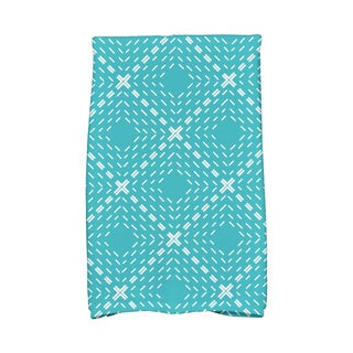 16 x 25-inch, Dots and Dashes Geometric Print Kitchen Towel