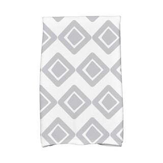 16 x 25-inch,Diamond Jive 1 Geometric Print Hand Towel