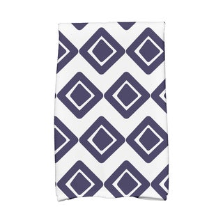 16 x 25-inch,Diamond Jive 1 Geometric Print Hand Towel