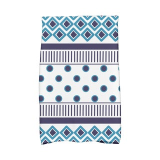 16 x 25-inch,Scrambled Prints Geometric Print Hand Towels