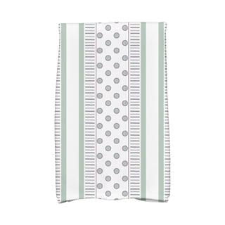16 x 25-inch, Comb Dot Stripe Print Hand Towel