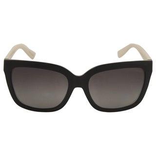 Michael Kors Women's MK 6016 3052T3 Sandestin - Black Shiny/Grey Polarized Sunglasses