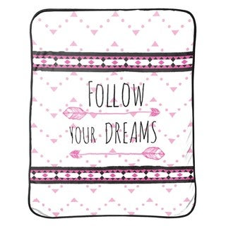 """Limited Too """"Follow Your Dreams"""" Silk Touch Throw"""