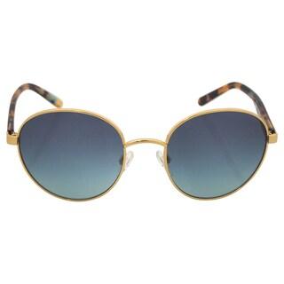 Michael Kors Women's MK 1007 10934S Sadie lll - Gold/Ocean Sunglasses