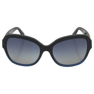Michael Kors Women's MK 6027 31004L Tabitha lll - Black/Navy Sunglasses