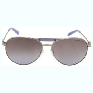 Michael Kors Women's MK 5001 109894 Zanzibar - Silver Lavender Sunglasses