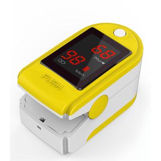 Concord Basics Yellow Finger Pulse Oximeter