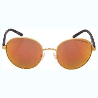 Michael Kors Women's MK 1007 10246Q Sadie lll - Orange Sunglasses