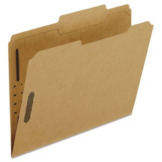 Pendaflex Kraft Fastener Folders 2 Fasteners 2/5 Right Tabs Letter 50/Box