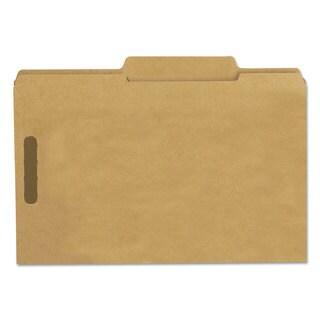 Smead 11 Point Kraft Folders Two Fasteners 2/5 Cut Rt Top Tab Legal Brown 50/Box