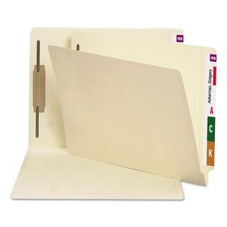 Smead Manila Folders One Fastener End Tab Letter 14pt Manila 50/Box