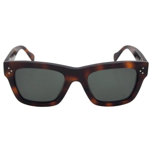 142945c5ffc4 Shop Celine Women's CL 41732/S 05LUC - Havana Polarized Sunglasses ...