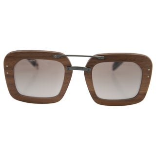 Prada Women's PR 30RS IAM-4O0 - Nut Canaletto/Brown Sunglasses