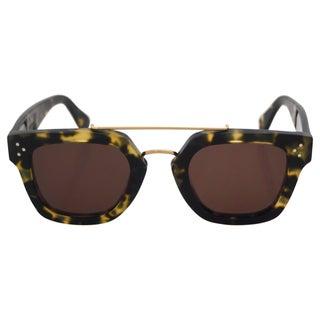 Celine Women's CL 41077/S PHW A6 - Havana Green Sunglasses