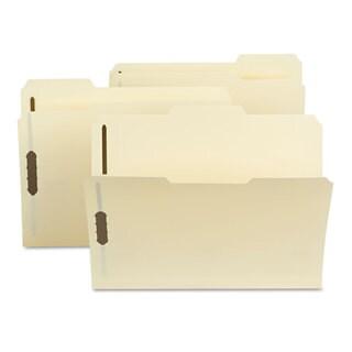 Smead Poly Folder Two Fasteners 1/3 Cut Top Tab Letter Manila 24/Box
