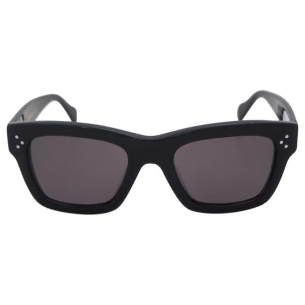 0897745102107 Shop Celine Women s CL 41732 S 8073H - Black Polarized Sunglasses ...