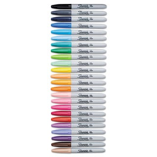 Sharpie Fine Point Permanent Marker Assorted 24/Set