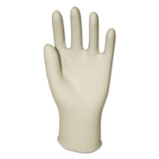 Boardwalk General Purpose Powdered Latex Gloves Large Natural 4.4 mil 1000/Carton