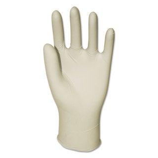 Boardwalk Powder-Free Latex Exam Gloves Large Natural 4.8 mil 1000/Carton