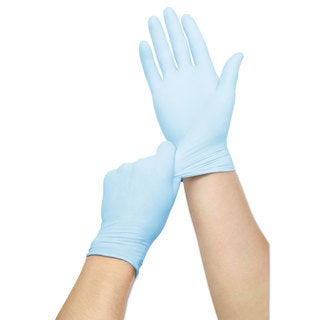 Curad Nitrile Exam Glove Powder-Free Medium 150/Box