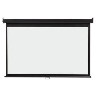 Quartet Wide Format Wall Mount Projection Screen 45 x 80 White