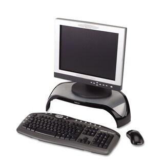 Fellowes Smart Suites Corner Monitor Riser 18 1/2 x 12 1/2 x 5 1/8 Black