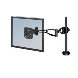 Fellowes Depth Adjustable Monitor Arm 21 x 4 3/8 x 24 Black