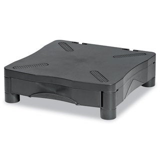 Kelly Computer Supply Monitor/Printer Stand with Drawer 13 1/4 x 13 1/2 x 4 Black