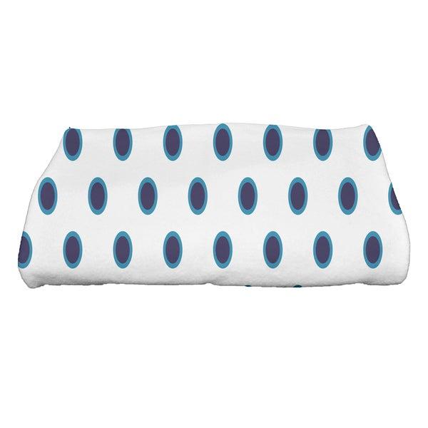 28 x 58-inch, Center Stripe, Stripe Print Bath Towel