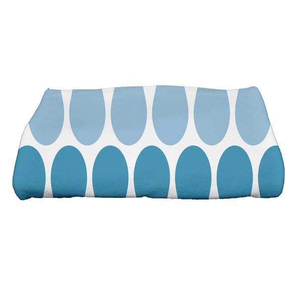 28 x 58-inch, Multi Colored Picks, Geometric Print Bath Towel