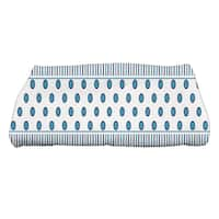28 x 58-inch, Comb Dot, Stripe Print Bath Towel