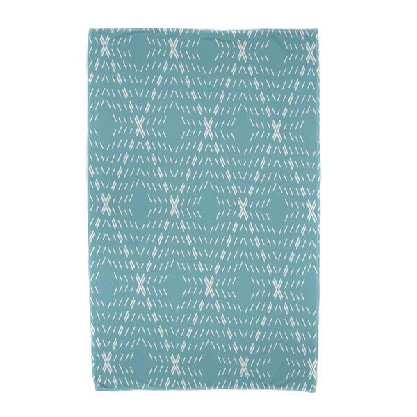 30 x 60-inch, Dots and Dashes, Geomteric Print Beach Towel