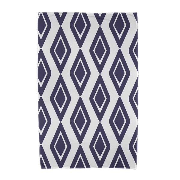 30 x 60-inch, Diamond Jive 1, Geometric Print Beach Towel