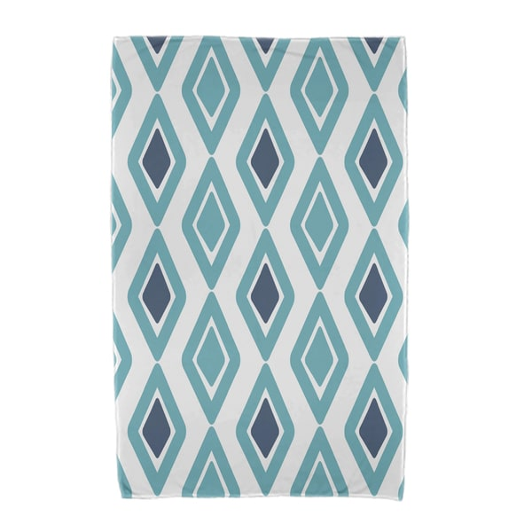 30 x 60-inch, Diamond Jive 2, Geometric Print Beach Towel