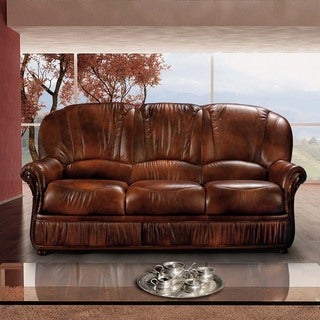 Luca Home Brown Sofa